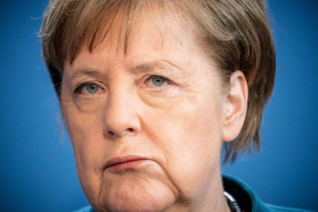 Angela Merkel le 22 mars 2020.
