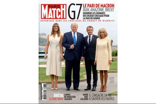 La couverture de Paris Match numéro 3668.