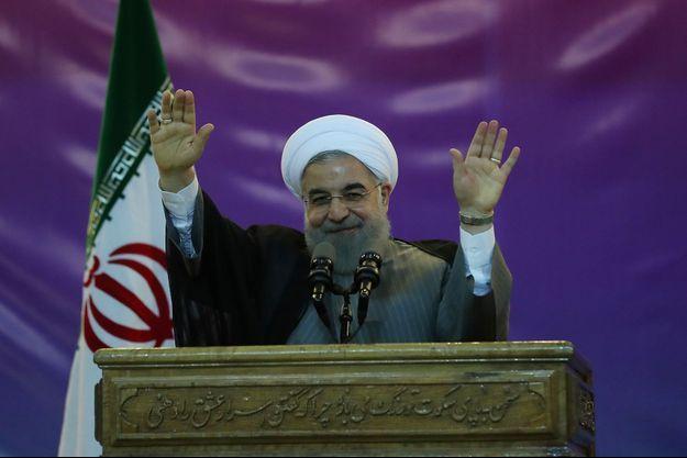 Hassan Rohani, le 1er mai 2017