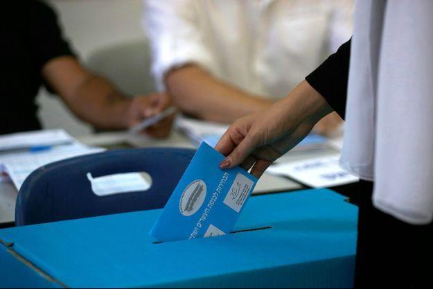 Elections législatives le 17 septembre 2019 en Israël.