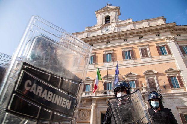 La police italienne (image d'illustration).