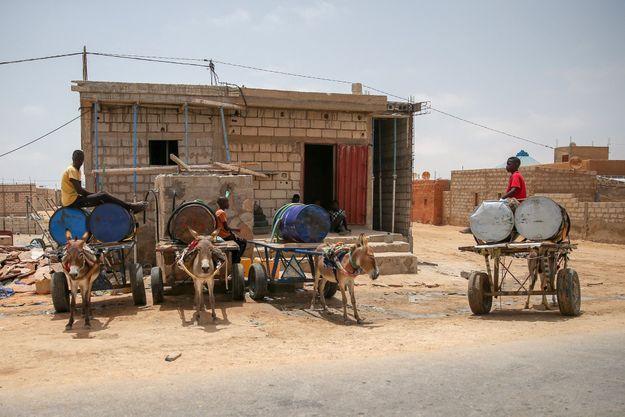 Nouakchott en Mauritanie.