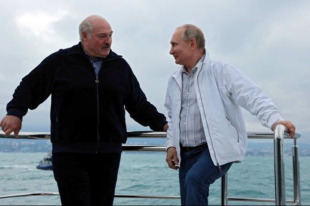 Alexandre Loukachenko, Vladimir Poutine