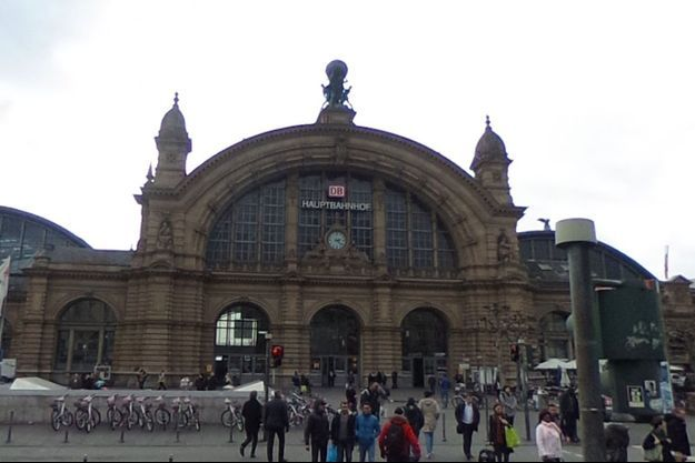 Gare de Francfort-sur-le-Main, en Allemagne.
