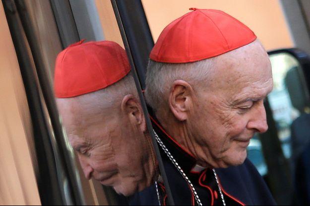 Le cardinal Theodore McCarrick, le 4 mars 2013 au Vatican.