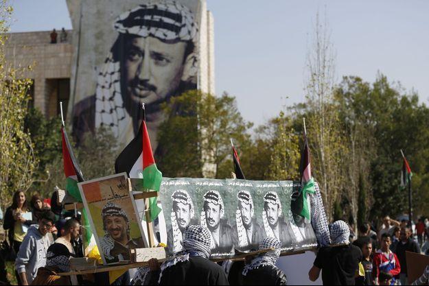 Yasser Arafat est décédé le 11 novembre 2004.