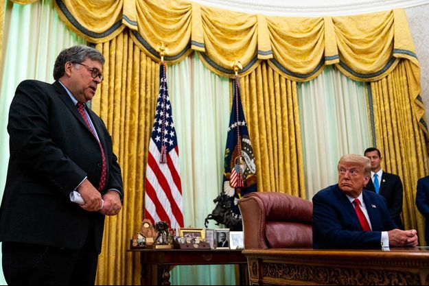 Bill Barr, Donald Trump