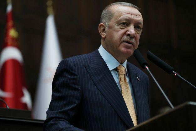 Le président turc Recep Tayyip Erdogan, le 28 octobre 2020.