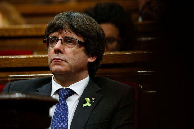 Le président catalan Carles Puigdemont.