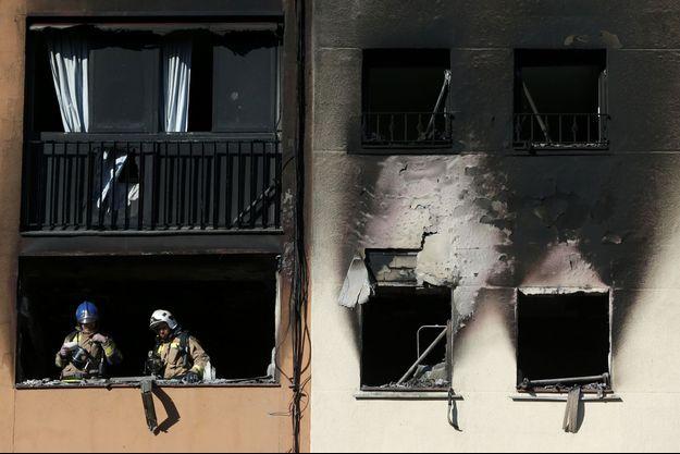 L'incendie a fait trois morts.