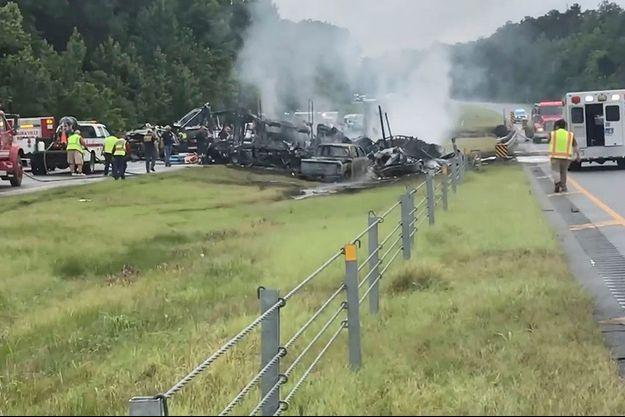 L'accident a fait dix morts.
