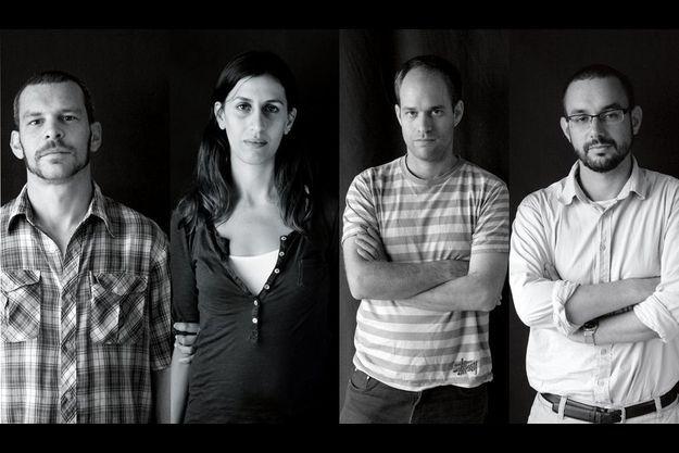 Micha, Dana, Noam, et Mikhael ont combattu pour Tsahal. C'est la première fois que des officiers israéliens manifestent à visage découvert leur contestation.
