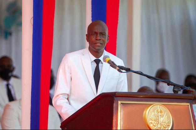 Le président haïtien Jovenel Moïse , à Port-au-Prince, en mai dernier.