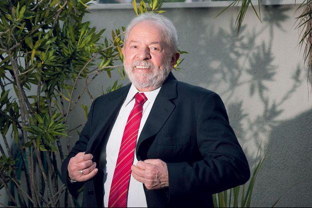 Luiz Inacio Lula da Silva, le 10 mai à Sao Paulo.