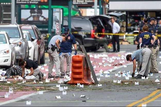 Cinq personnes ont été interpellées à New York dans le cadre de l'enquête sur l'explosion d'une bombe à Chelsea.