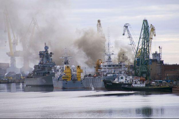 Le chantier naval de Severodvinsk en 2015 (image d'illustration).