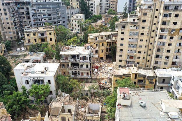 Le bilan s'alourdit pour la France (photo d'illustration prise à Beyrouth).