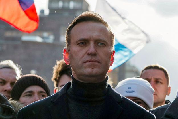 Alexeï Navalny le 29 février 2020 à Moscou.