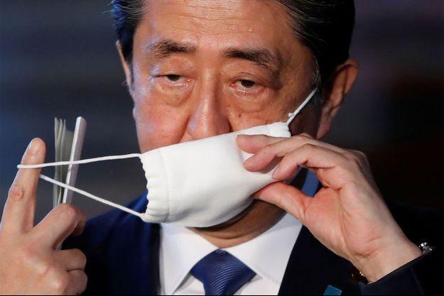 Le Premier ministre Shinzo Abe.
