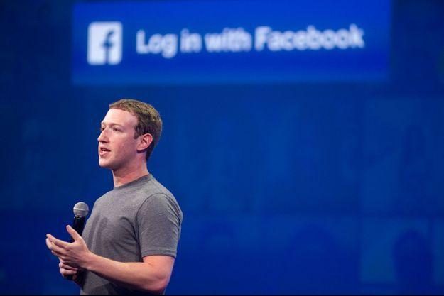 Mark Zuckerberg en mars 2015 à San Fransisco.