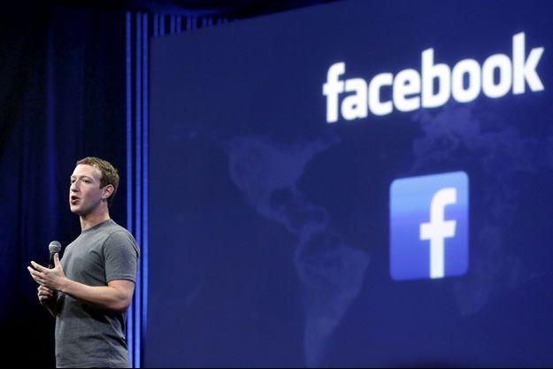 Mark Zuckerberg , ici en mars 2015.