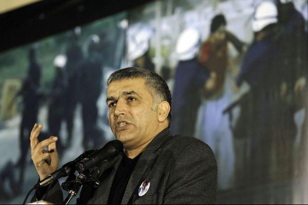 L'opposant bahreïni Nabeel Rajab photographié en décembre 2011.