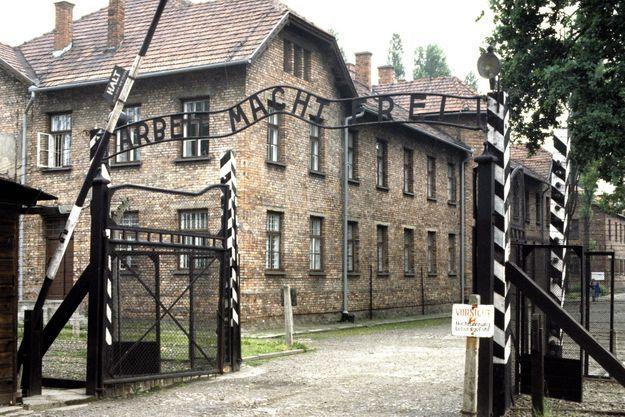 Camp d'extermination d'Auschwitz.