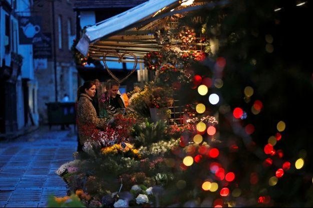 Des décorations de Noël à York.