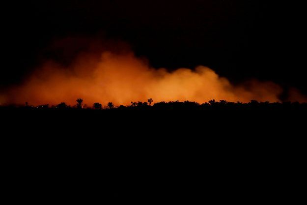 L'incendie en Amazonie a des répercussions jusqu'à la ville de Sao Paulo.