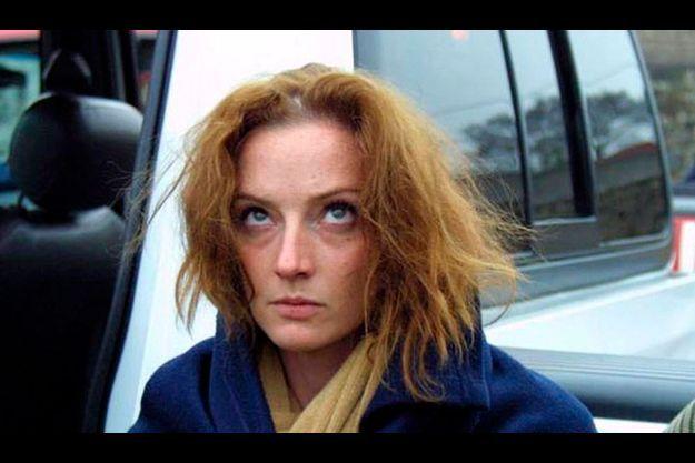Florence Cassez lors de son arrestation le 9 décembre 2005. La jeune Française attendait tout de la visite de Nicolas Sarkozy.