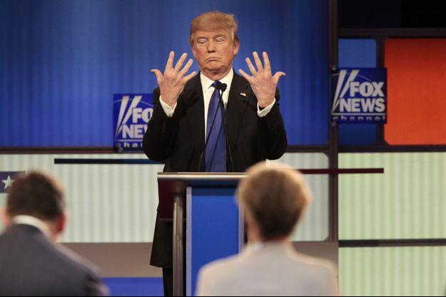 Donald Trump lors de sa course à la présidence américaine en 2016.