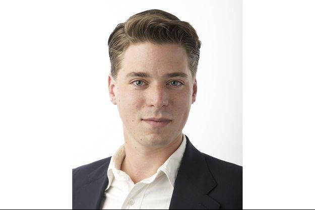 Photo officielle d'Hravn Forsne pour le parti Moderaterna.