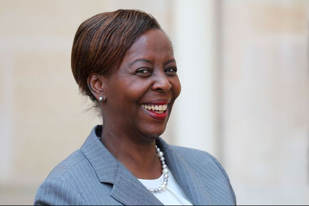 Louise Mushikiwabo à l'Elysée, à Paris, le 23 mai dernier.