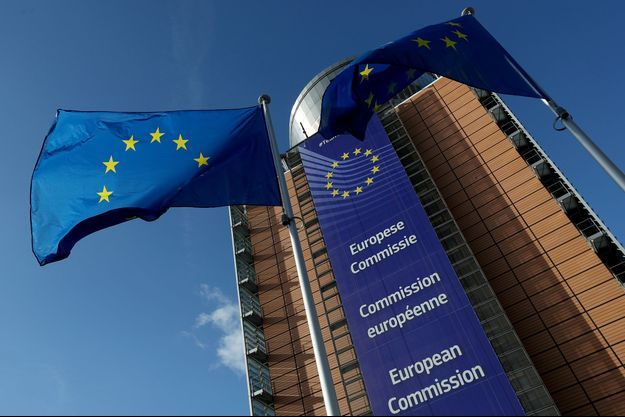 Le siège de la Commission européenne à Bruxelles, le 28 octobre.