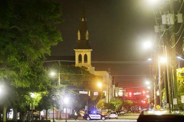 L'église de Charleston a été le théâtre d'une tragédie.