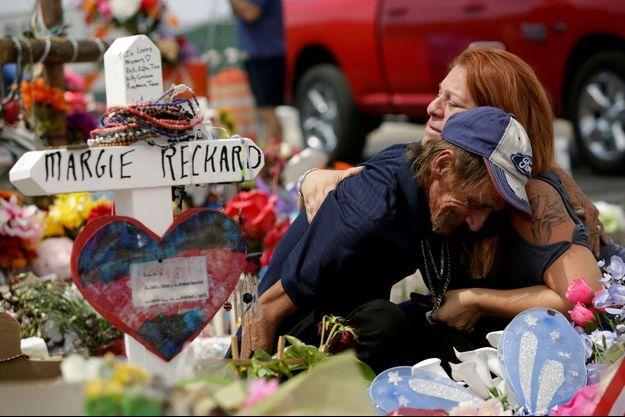 Antonio Basco a perdu son épouse dans la fusillade d'El Paso.