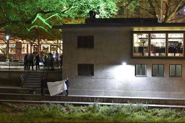 Le centre musulman visé lundi soir, dans le centre de Zurich.