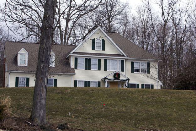 La maison d'Adam Lanza
