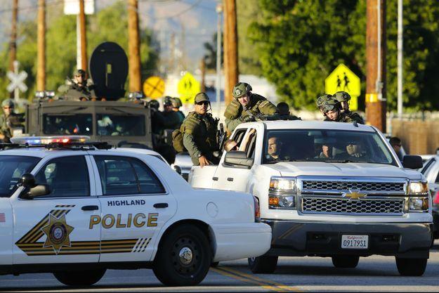 La fusillade a eu lieu mercredi en Californie