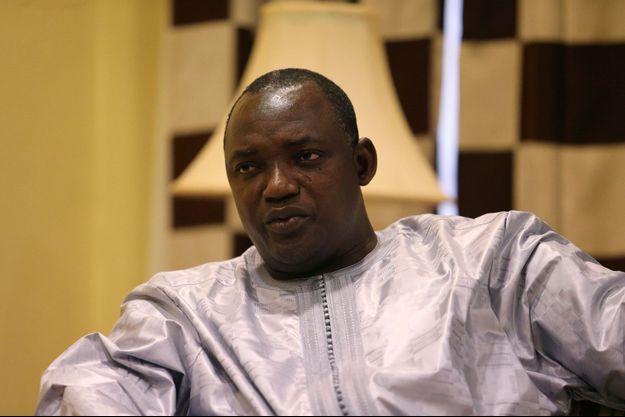 Le nouveau président de la Gambie, Adama Barrow