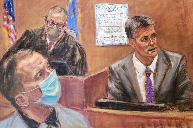 Le témoignage de Andrew Baker devant le tribunal de Minneapolis/