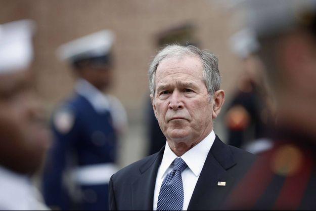 L'ancien président américain George W. Bush, en décembre 2018.