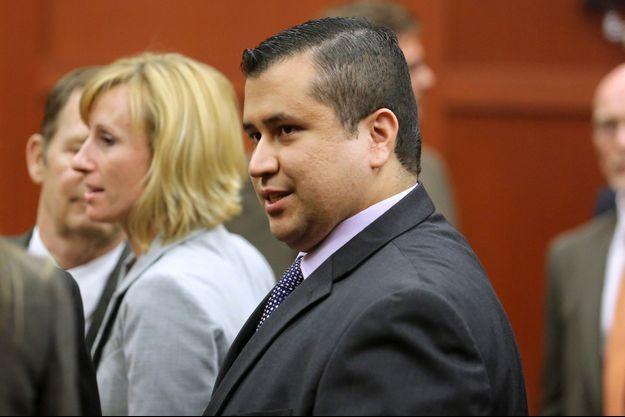 George Zimmerman à l'énoncé du verdict.
