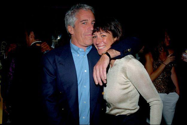 Avec Jeffrey Epstein lors d'un gala de charité à New York, en mars 2005.