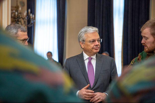 Le ministre belge des Affaires étrangères Didier Reynders.