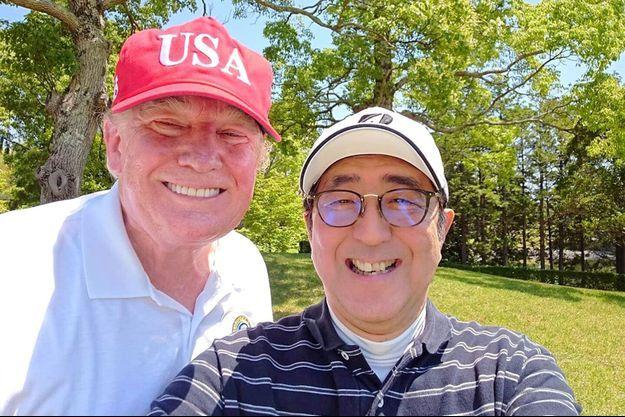 Donald Trump et Shinzo Abe