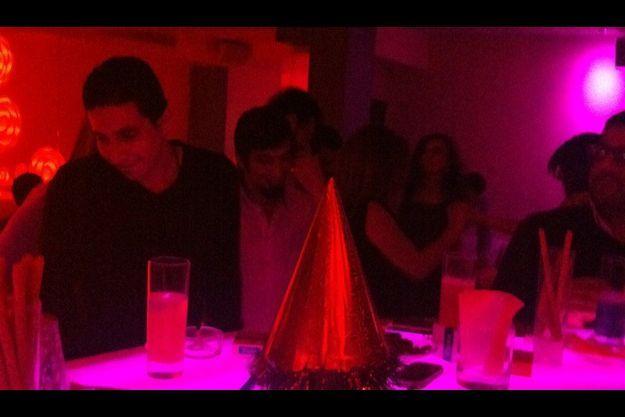 Le Pure Lounge, le soir de la Saint-Sylvestre.
