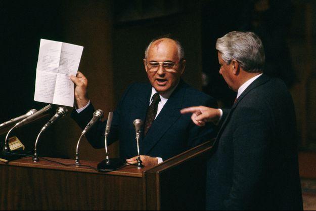 Gorbatchev Eltsine