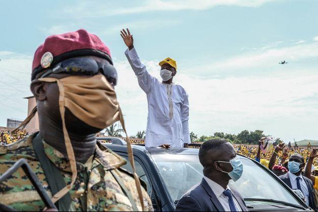 Le président guinéen sortant, Alpha Condé
