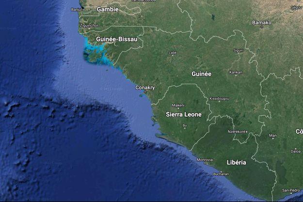 Conakry, en Guinée.